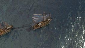 Flota antigua Imágenes de archivo libres de regalías