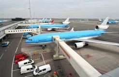 Flota del aeroplano Imagen de archivo libre de regalías
