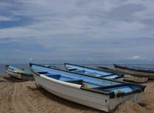 Flota pesquera Fotos de archivo libres de regalías