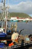 Flota pesquera de Greymouth Fotos de archivo