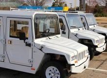 Flota 100 procentów Elektryczni pojazdy Obraz Stock