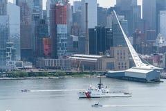 Flota tydzień NYC 2016 - USCGC Naprzód Obrazy Stock