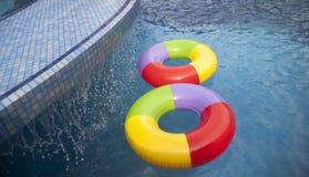 二Flotables 免版税库存图片