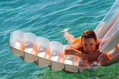 Flotación Fotos de archivo libres de regalías