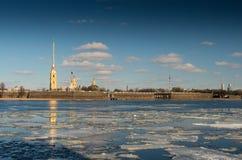 Flotación del hielo Imagen de archivo