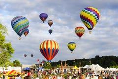 Flotación en el cielo Foto de archivo libre de regalías