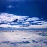 Flotación en las nubes Imagen de archivo