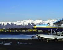 Flotador Alaska plana Imagenes de archivo