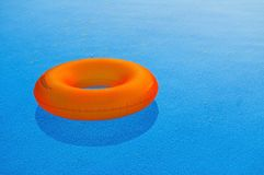 Flotador anaranjado foto de archivo