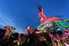 Flotador colorido durante la celebración china del Año Nuevo Imagen de archivo
