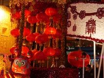 Flotador colorido en el desfile chino San Francisco 2018 imagenes de archivo