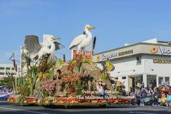Flotador de alcalde Award en Rose Parade famosa Fotografía de archivo libre de regalías
