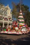 Flotador de Mickey y de Minnie imagenes de archivo