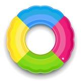 Flotador del anillo de goma Fotografía de archivo libre de regalías