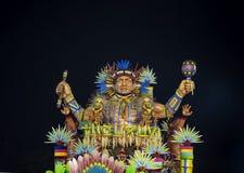 Flotador del Brasil del carnaval Imagenes de archivo