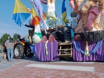 Flotador del carnaval Imagen de archivo libre de regalías