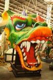 Flotador del desfile del carnaval foto de archivo