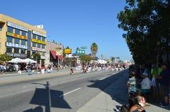 Flotador 2015 del desfile del festival de Los Ángeles Corea Imágenes de archivo libres de regalías