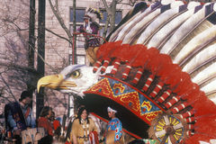 Flotador del nativo americano Fotos de archivo