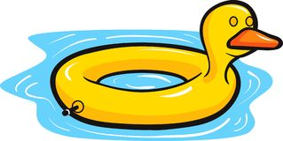 Flotador del pato