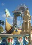 Flotador egipcio en el carnaval cubano Imagen de archivo
