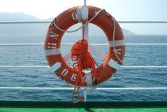 Flotador en cubierta Fotografía de archivo