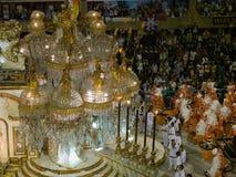 Flotador grande, carnaval 2008 de Río. Imagen de archivo