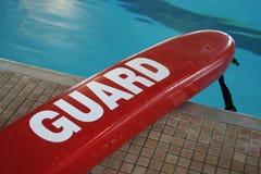 Flotador salvavidas de la piscina Foto de archivo libre de regalías