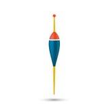 Flotador vectorial de la pesca Fotografía de archivo libre de regalías