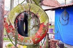 Flotador viejo Imagen de archivo libre de regalías