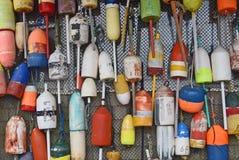 Flotadores 4 de la langosta foto de archivo libre de regalías