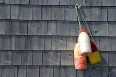 Flotadores de la langosta Fotos de archivo libres de regalías