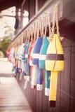 Flotadores de la langosta Fotos de archivo