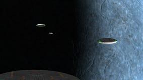 Flotilla UFO stock footage