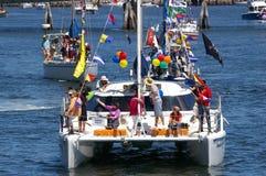 Flotille für Kinder Lizenzfreie Stockbilder
