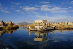 flottörhus öar Royaltyfri Bild