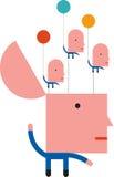Flottörhus idéer vektor illustrationer