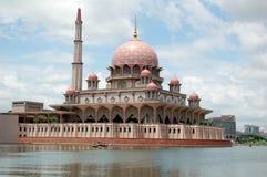 flottörhus moské 4 Arkivfoto