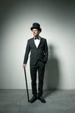 flott gentleman arkivbild