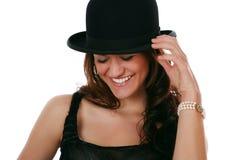 flott hattöverkant royaltyfri fotografi