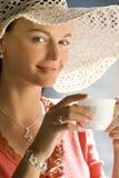 flott kaffe royaltyfria bilder