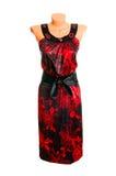 flott klänningwhite Royaltyfri Foto