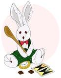 flott skedträ för kanin Royaltyfri Foto