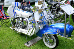 Flott sparkcykel Royaltyfri Fotografi