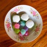 Flott sweetsAndefterrätt arkivbilder