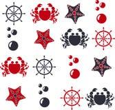flotta stock illustrationer