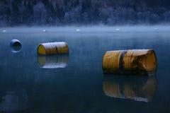 flotta del barilotto Fotografie Stock