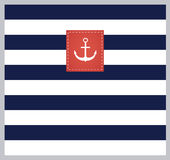 Flotta retro stilfull bakgrund royaltyfri illustrationer