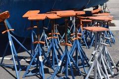 Flottastålar och styltor Royaltyfri Bild