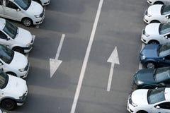 Flotte Autos Lizenzfreie Stockbilder
